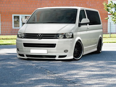 VW Transporter T5 Facelift R2 Front Bumper Extension