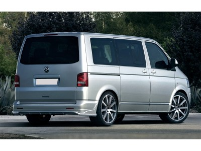 VW Transporter T5 Facelift SX Rear Bumper Extension