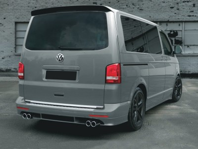 VW Transporter T5 Facelift Saturn Rear Bumper Extension