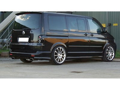 VW Transporter T5 Intenso Rear Bumper Extensions