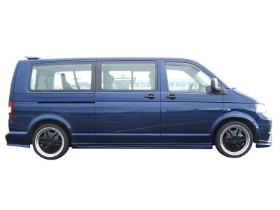 VW Transporter T5 Long N1 Side Skirts