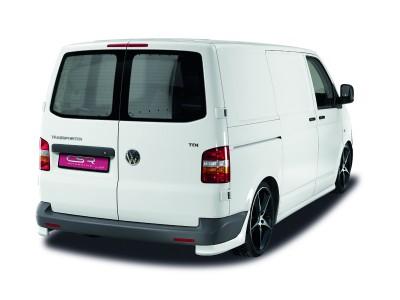 VW Transporter T5 NewLine Rear Bumper Extensions