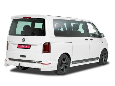 VW Transporter T6 CX Rear Bumper Extensions