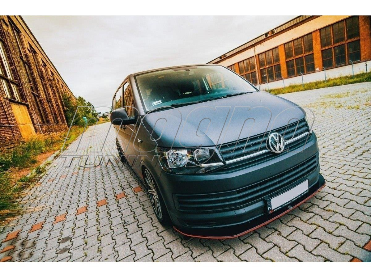 vw transporter t6 master front bumper extension. Black Bedroom Furniture Sets. Home Design Ideas
