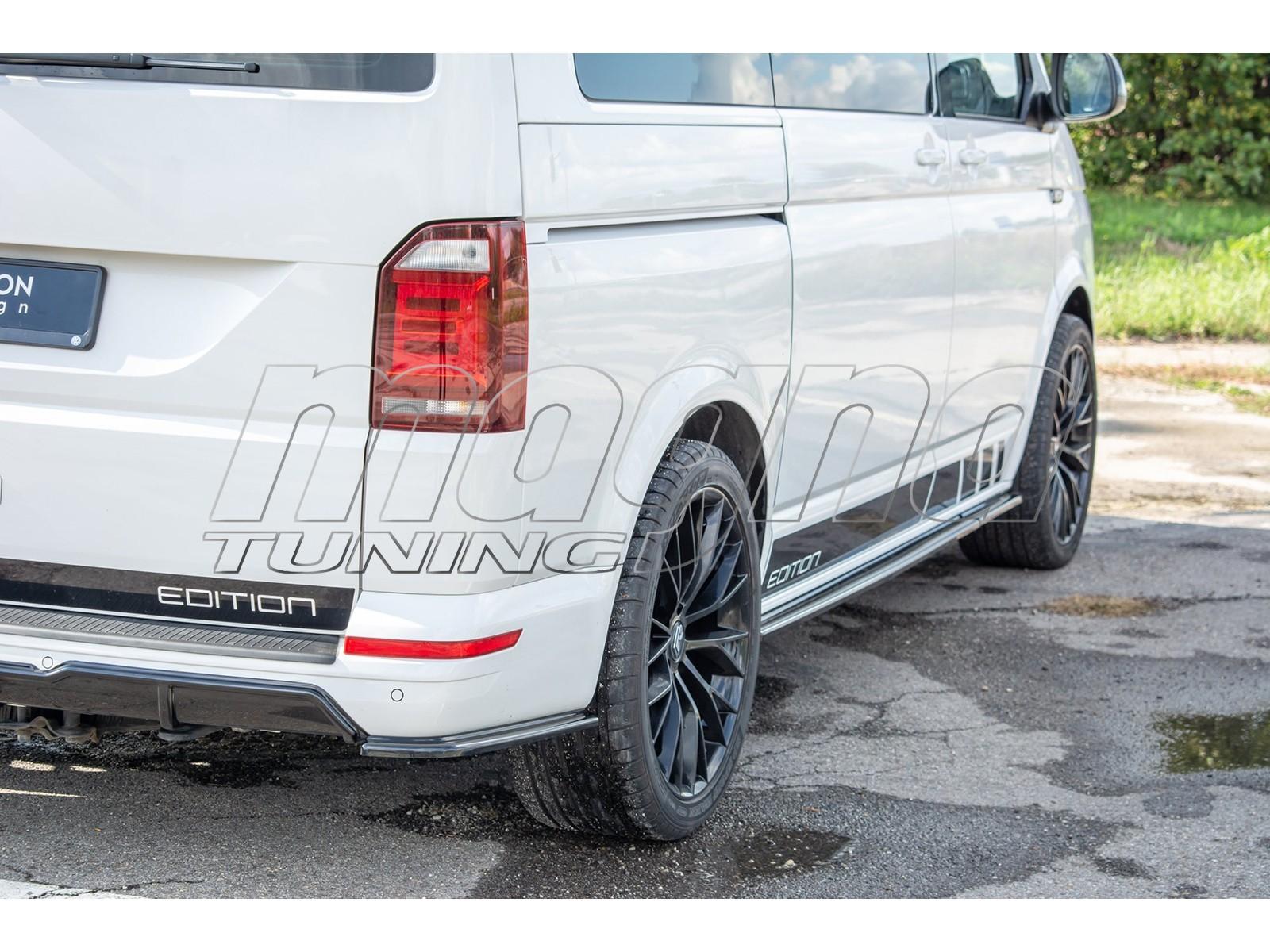 VW Transporter T6 Maximus Rear Bumper Extension