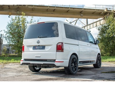 VW Transporter T6 Maximus Rear Bumper Extension