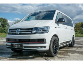 VW Transporter T6 Maximus Side Skirt Extensions