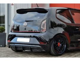 VW Up GTI Intenso Rear Bumper Extension