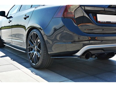 Volvo V60 Polestar MX Side Skirt Extensions
