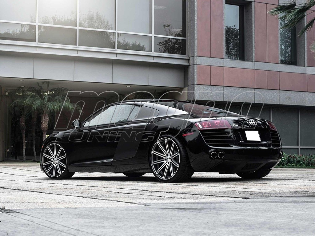 vossen cv4 matte graphite machined felge