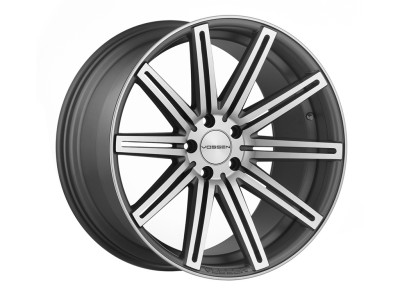 Vossen CV4 Matte Graphite Machined Wheel