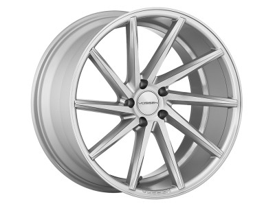 Vossen CVT Metallic Gloss Silver Wheel