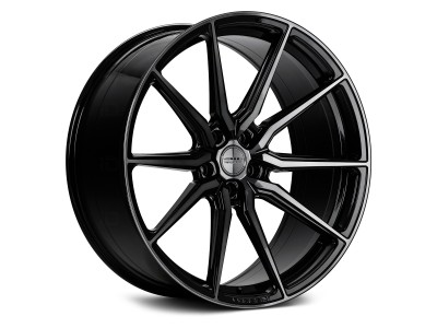 Vossen HF-3 Double Tinted Gloss Black Wheel
