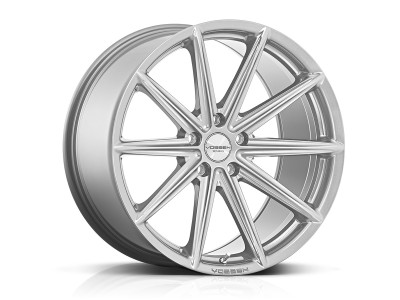 Vossen VFS10 Silver Metallic Wheel