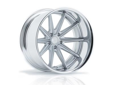 Vossen VWS-1 Matte Silver Wheel