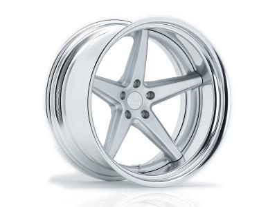 Vossen VWS-3 Matte Silver Wheel