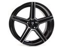 mbDesign KV1 Black Polished Wheel