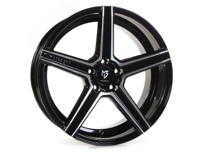 mbDesign KV1 Black Polished Wheel