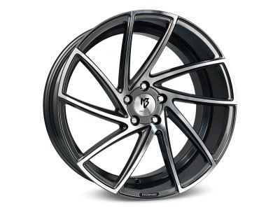 mbDesign KV2 Grey Polished Wheel