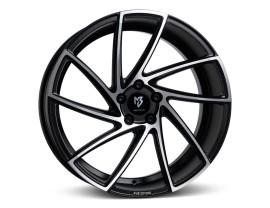 mbDesign KV2 Matt Black Polished Wheel