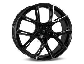 mbDesign KX1 Black Felge