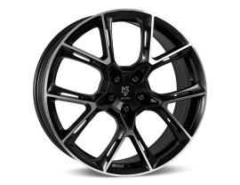 mbDesign KX1 Black Polished Felge