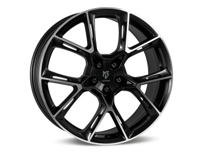 mbDesign KX1 Black Polished Wheel