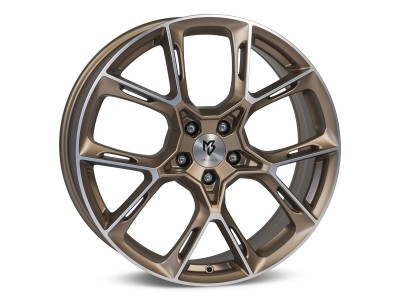 mbDesign KX1 Bronze Light Polish Wheel