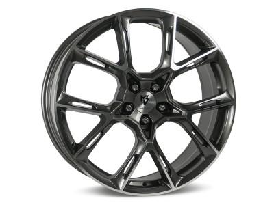 mbDesign KX1 Grey Polished Felge