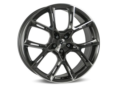 mbDesign KX1 Grey Polished Wheel