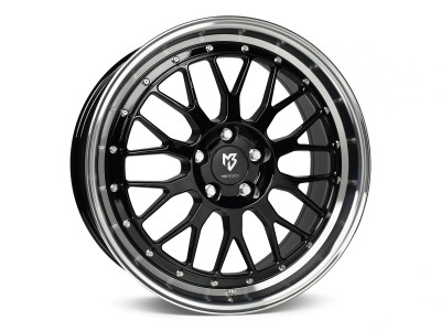 mbDesign LV1 Black Polished Felge