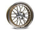 mbDesign LV1 Gold Full Polished Wheel