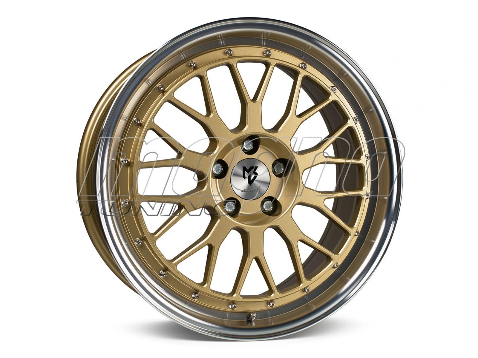 mbDesign LV1 Gold Polished Felge