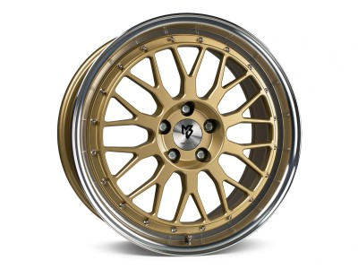 mbDesign LV1 Gold Polished Wheel
