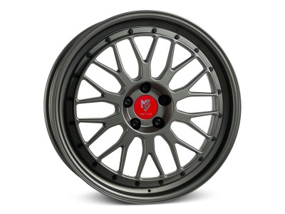 mbDesign LV1 Matt Gunmetal Wheel