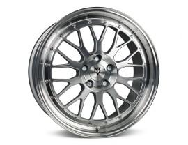 mbDesign LV1 Silber Polished Felge