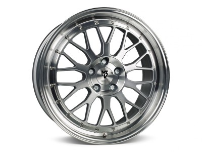 mbDesign LV1 Silver Polished Wheel