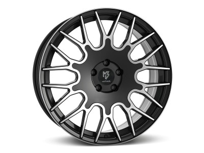 mbDesign LV2 Black Polished Wheel