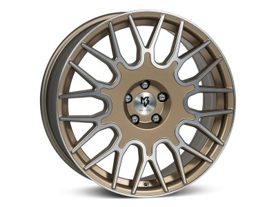 mbDesign LV2 Bronze Light Polish Wheel