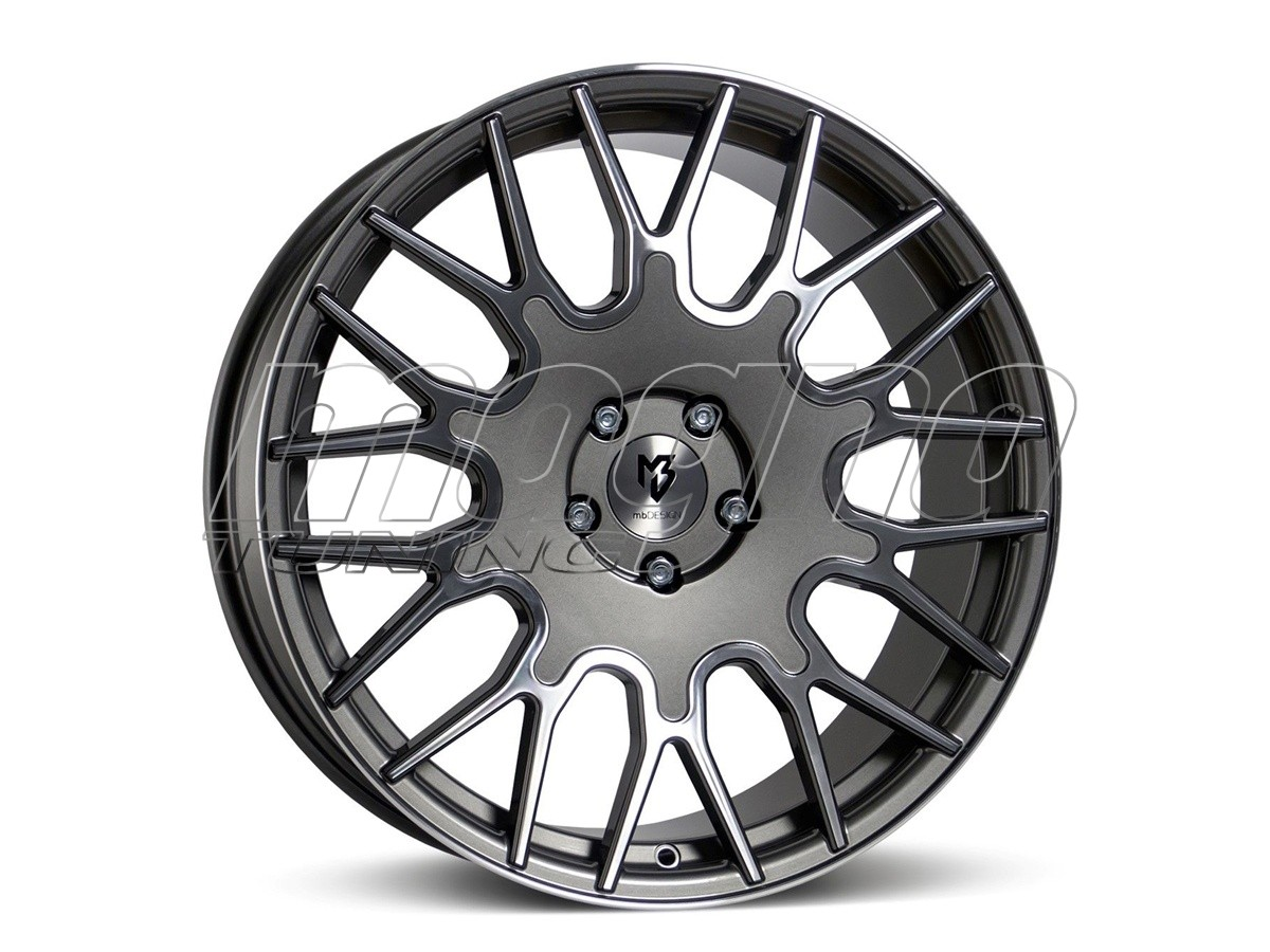 mbDesign LV2 Grey Polished Felge