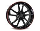 mbDesign MB1 Black Red Shiny Wheel