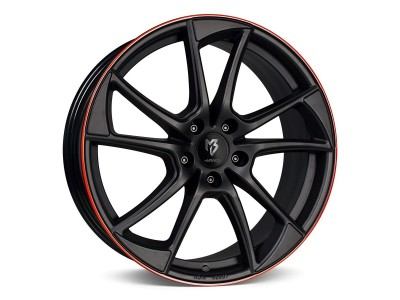 mbDesign MB1 Black Red Wheel