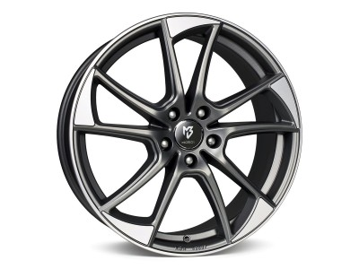 mbDesign MB1 Matt Grey Polished Wheel