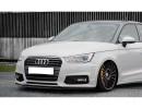 Audi A1 8X Facelift Iris Front Bumper Extension