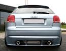 Audi A3 8P Enos Rear Bumper Extension