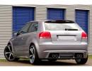 Audi A3 8P Rio Rear Bumper Extension
