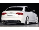 Audi A4 B8 / 8K RX Rear Bumper Extension