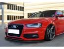 Audi A5 8T Facelift S-Line Intenso Front Bumper Extension