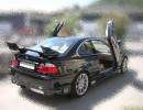 BMW E46 Shuriken Rear Wing