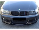 BMW E82 / E88 RX Carbon Fiber Front Bumper Extension